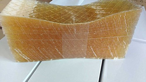 Gelatina en lamina, 500 laminas, 1kg. Sabor neutro profesional