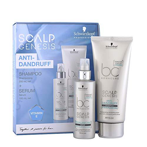 Schwarzkopf BC Scalp Genesis Anti Dandruff Shampoo 200ml Serum 100ml