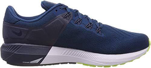 Nike Herren Air Zoom Structure 22 Laufschuhe, Mehrfarbig (Blue Force/Volt/Thunder Blue/Black 402), 45.5 EU