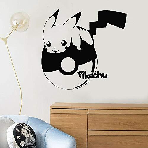 Calcomanías de pared lindas mascotas de dibujos animados pequeño anime art niños dormitorio guardería dormitorio decoración del hogar puertas y ventanas pegatinas de vinilo papel tapiz regalos