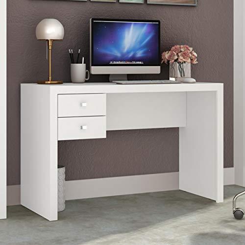 Mesa Para Escritório 2 Gavetas Me4123 Tecno Mobili - Branco