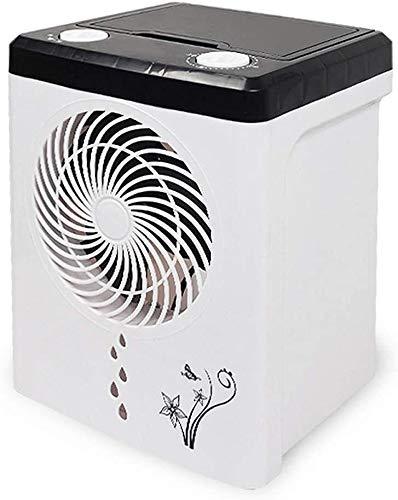 Pequeña nevera portátil de aire en verano sombra en movimiento enfriador de aire acondicionado, ventilador USB personales humidificador de aire acondicionado de refrigeración móvil, la circulación de