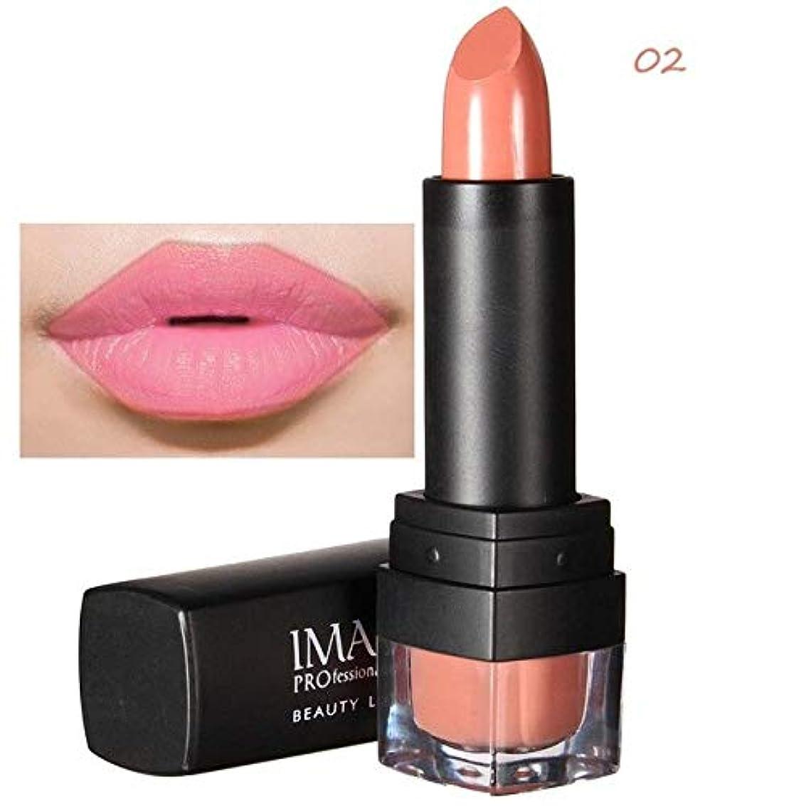 傭兵保証ネブ注意Imagic 12色口紅魅力的な防水マキアジェム長続きするマット自然メイクアップ美容唇化粧品ツール