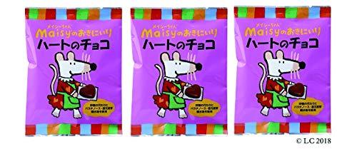 メイシーちゃん(TM)のおきにいり ハートのチョコ (5g×8個入り)×3個 ★ コンパクト★ 対象年齢(目安):3才頃から。★北海道産ミルクを使用した、ひとくちサイズのハート形ミルクチョコ。砂糖の代わりにパラチノース・還元麦芽糖水飴を使っています。個包装