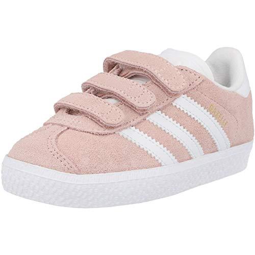 adidas Gazelle CF I, Scarpe da Fitness Unisex-Bambini, Rosa (Roshel/Ftwbla/Ftwbla 000), 26 EU