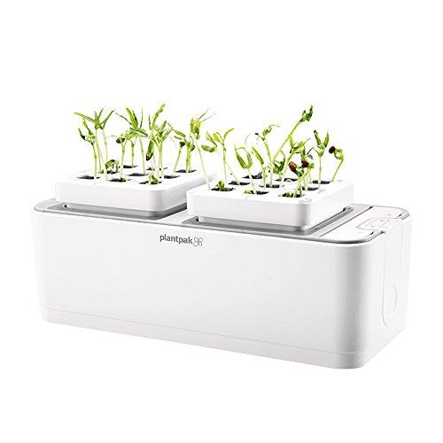 Plantpak 70200410 Hydropod Indoor Garden, weiß, 26,5 x 11,7 x 11 cm