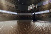 APAN10x7ft屋内バスケットボールコート背景バスケットボールテーマBirtAPANayパーティーの写真の背景キッドボーイマンスポーツクラブ新生児人学生スポーツパーティー芸術ポートレート写真撮影の小道具
