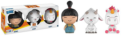 FunKo Dorbz: Despicable Me 3 3 inch Vinyl Figure - Fluffy, Agnes and Lucky