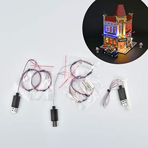 DOSGO Licht-Set Für Grand Theater Modell - LED Beleuchtung Light Kit Kompatibel Mit Lego 10232 (Modell Nicht Enthalten)