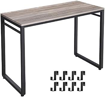 Vasagle Alinru Easy Assembly Steel Frame Computer Desk