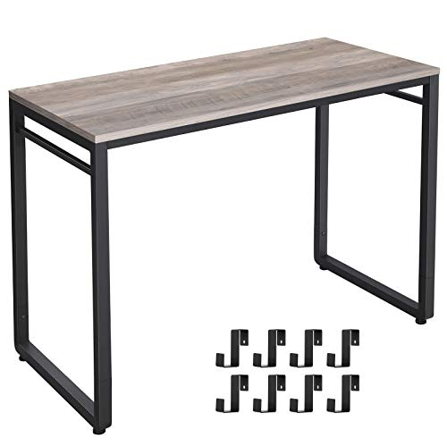 Computer Desk Brown and Greige from $56.09 + Free shipping