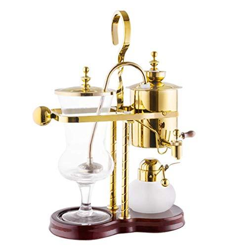 Moulin à café manuel -Siphon Coffee Pot Set Siphon ménage peut belge Can Royale Royal 4 Types vide Machines à café (Couleur: A1) HAIKE (Color : B)