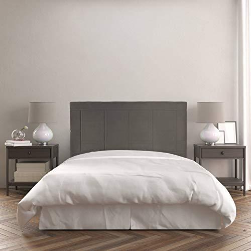 Dreaming Kamahaus Cabecero Agatha | Tapizado Tejido Nido | 160 x 120 cm | para Camas de 150 cm |Color Nido 8/Savana | Antimanchas