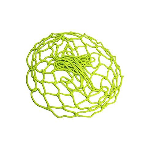 1 red de baloncesto luminosa de 18 cm para día y noche, solo para niños pequeños baskest Hoop entrenamiento deportivo Glow Basketball Net