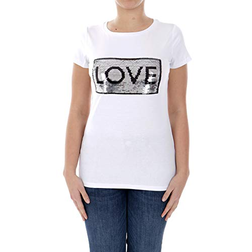 T-Shirt ST P M/C Bianco T19106J5003 S Liu Jo T19106