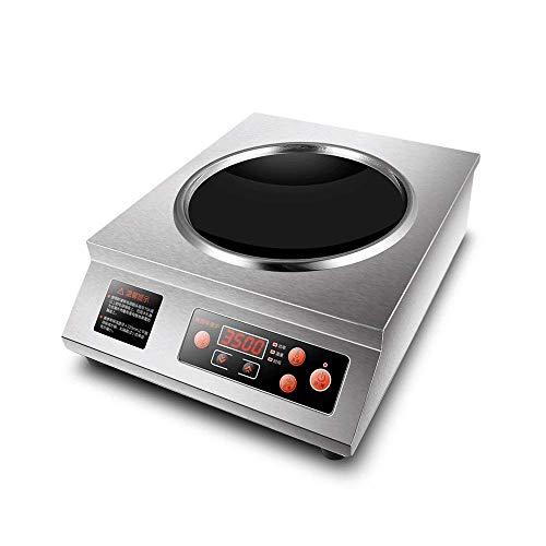 Placa caliente for cocinar eléctrico portátil individual Cocina, estufa de mesa Quemador...