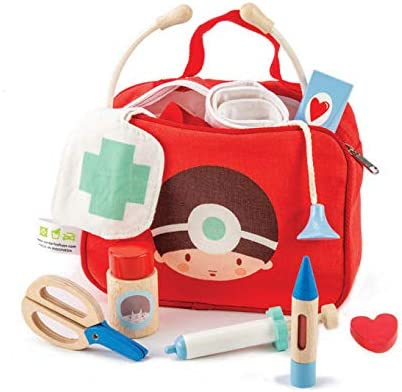 lowest price 12 Pc Medical Bag Set - Doctor Medica Nurse Japan's largest assortment Pretend and Play Toy