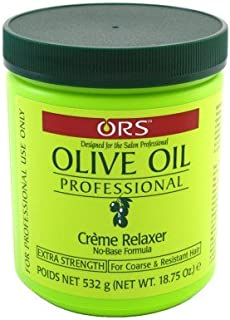 Ors Olive Oil Creme Relaxer Extra Strength 18.75oz Jar (2 Pack)