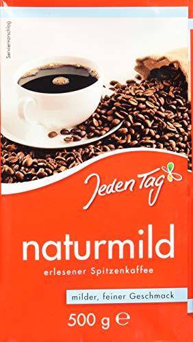 Jeden Tag Naturmilder Kaffee, 500 g