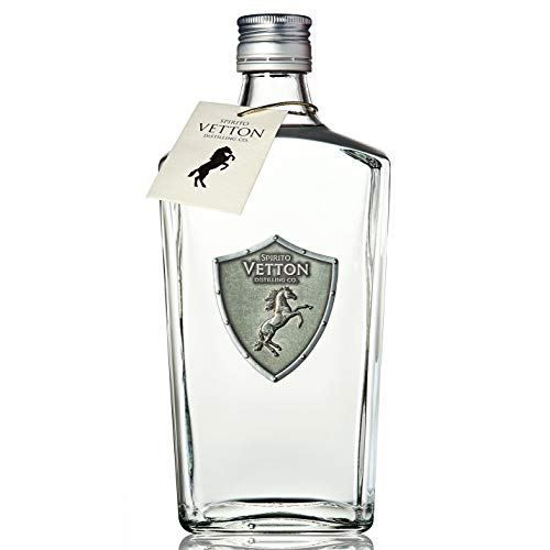 Spirito Vetton- Ginebra Premium Artesanal Extra Dry de cinco destilaciones – Botella de 70 cl - Mejor Ginebra Española por Segundo Año Consecutivo