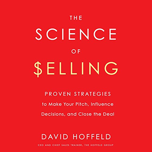 The Science of Selling audiobook cover art