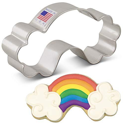 Ann Clark Cookie Cutters Cortador de galletas arco iris - 10,2 cm