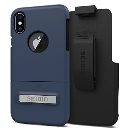 Seidio Cell Phone Cases for iPhone X - Blue