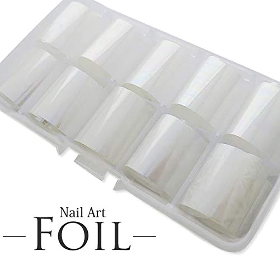 反逆添加剤忘れるネイルアート フォイル オーロラ 10個セット