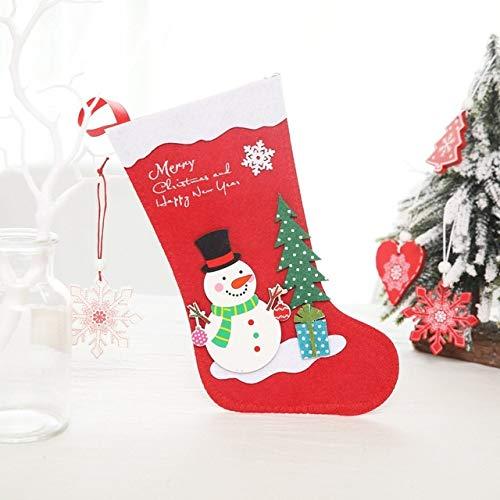 niawmwdt schattige karton, kerstman, pinguïn, sneeuwman, laarzen, kerstkous, kerstkous