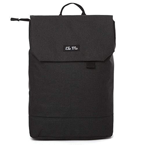 Ela Mo Rucksack Damen - Schön u. Durchdacht - Daypack mit Laptopfach & Anti Diebstahl Tasche für Ausflüge, Uni, Schule u. Büro (Stone)