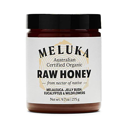 Meluka Australia Premium Raw Honey, 100% Pure, Unpasteurized, and Unfiltered Australian Honey