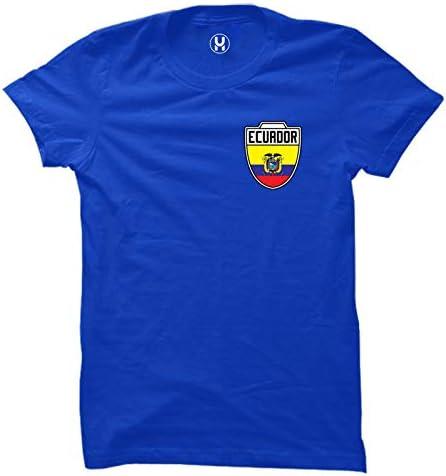 Ecuador Futbol Jersey Ecuadorian Soccer Ladies T Shirt Royal X Large product image