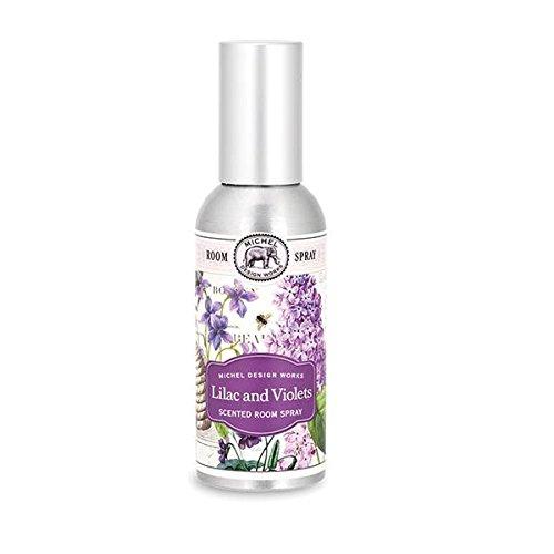 Michel Design Works Home Fragrance Spray, Lilac and Violets, Lilac & Violets