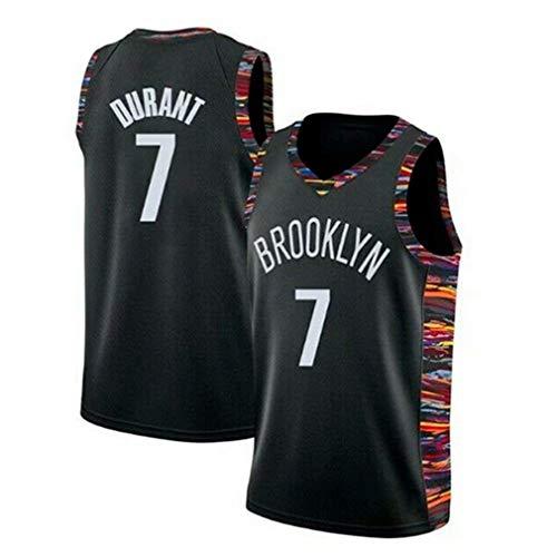 King-mely Kevin Durant Trikot - NO.7 Brooklyn Nets Basketballspieler-Trikot für Herren NBA Fan-Trikot Swingman Jerseys