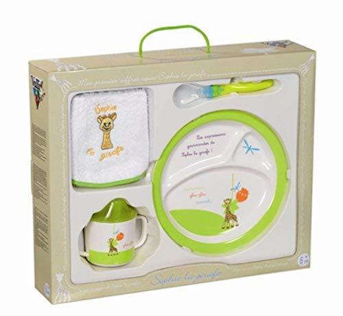 Vulli 460004 - Vajilla infantil de melamina, diseño Sophie la jirafa