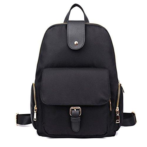 Clode® Casual Nylon Laptop bolso escolar mochila mochila viaje de la mujer
