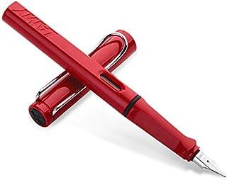 LAMY 凌美 safari狩猎者F(标准)尖墨水笔(钢笔)红色(标配吸墨器)