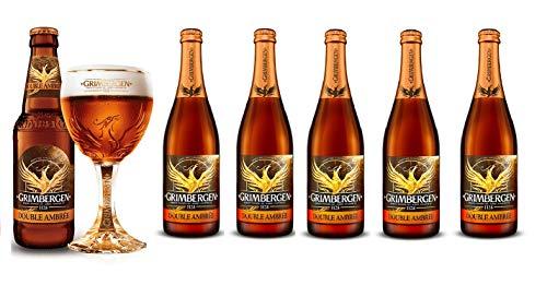 GRIMBERGEN Double Ambrée [ Paquete con 6 BOTELLAS de 750 ml ]