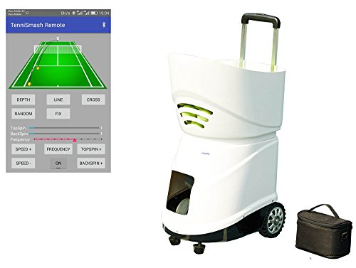 Easyday Tennisball-Maschine, automatisch, tragbar, Smart-Tennisball-Maschine mit intelligenter Reomote-Kontrolle