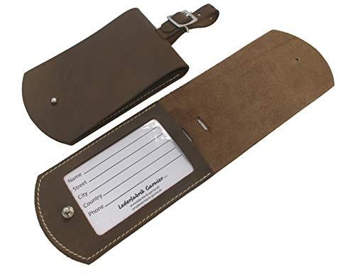 Lederfabrik Garnier - Etiqueta para Equipaje Marrón marrón