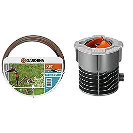 Gardena Set de Connexion Grand Débit de Kit Complet pour Le Raccordement d'une Tuyauterie & Départ Enterré de Système de…