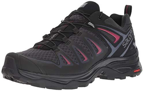 Salomon Damen Shoes X Ultra 3 W bk Bergschuhe, Mehrfarbig (Graphit/Schwarz/Citronelle), 37 1/3 EU