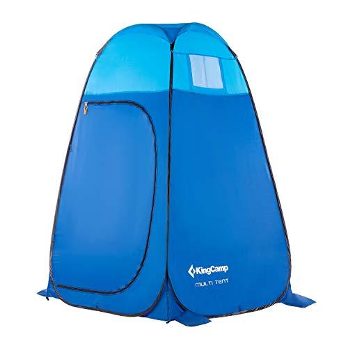KingCamp 着替えテント 簡易トイレ シャワー 更衣室 ワンタッチ ポップアップ 設置簡単 ビーチテント プライベートテント アウトドア 防災 携帯 収納袋付き