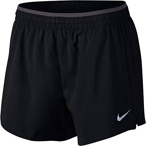 Nike Women's Elevate 5'' Running Shorts (Medium) Black