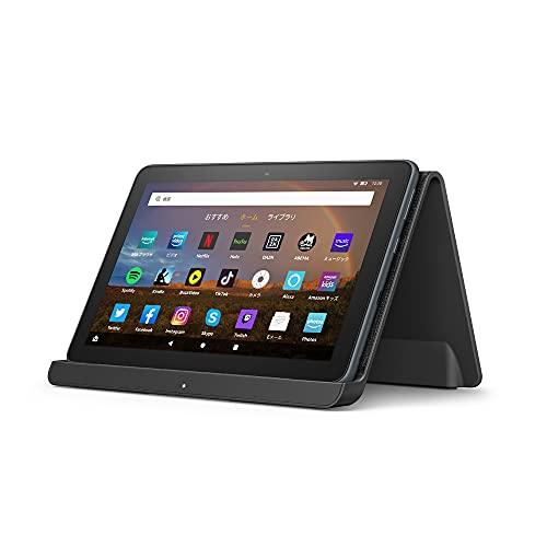 【セットで1,600円OFF】Fire HD 8 Plus タブレット + ワイヤレス充電スタンド;