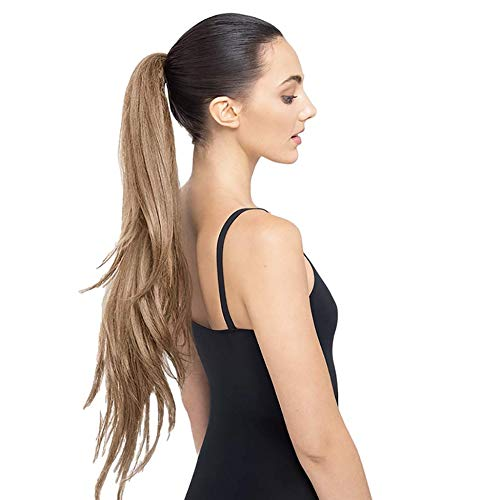 The Ruby 30' Long Layered Ponytail (Dark Blonde) Hair Extension StyleFlex - Celeb Stylists Prefer Us to Human Hair