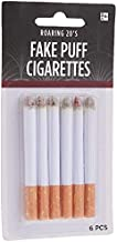 6-Piece Fake Puff Cigarettes   One Size   White   1 Pack
