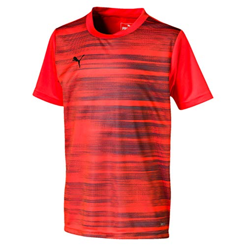 PUMA Jungen ftblNXT Graphic Shirt Core Jr Trikot, NRGY Red Black, 152