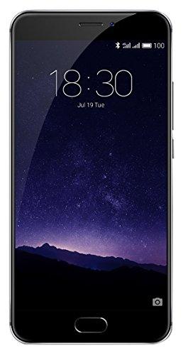 Meizu MX6 - Smartphone DE 5.5' (Deca Core Helio X20 1.4 GHz, Memoria Interna de 32 GB, 3 GB de RAM, HD 720p), Gris/Negro