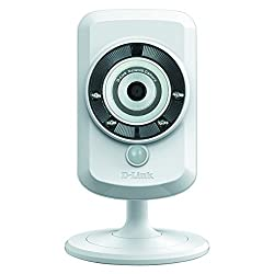 D-Link DCS-932L, small and affordable wifi IP surveillance camera for home